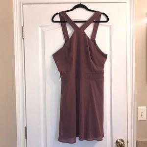 NWT size 3x Mauve dress